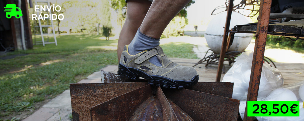 Sandalias de seguridad ligeras