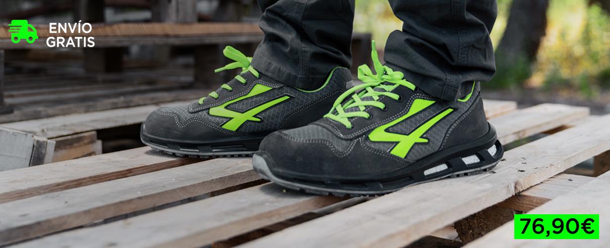 Zapatos de seguridad más ligeros y transpirables