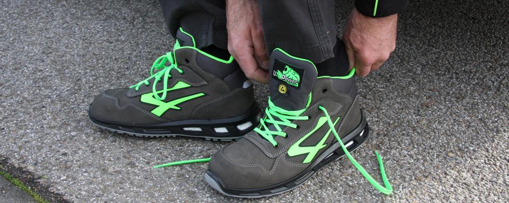 Zapatos de seguridad altos
