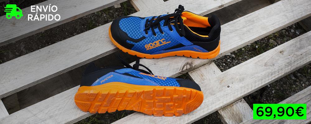 Zapatos de seguridad Sparco Practice