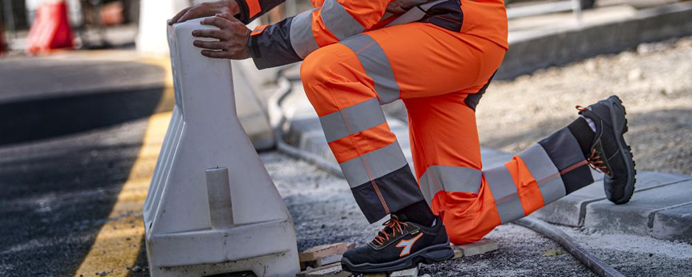 Pantalones de trabajo alta visibilidad