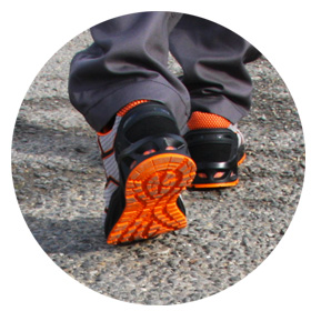 Zapatos ligeros