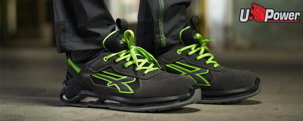 Zapatos de seguridad U-Power ligeros