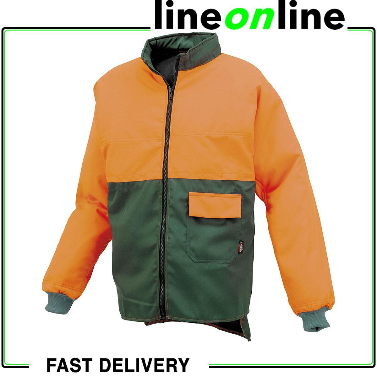 Leñador chaqueta anti-corte Industrial Estrellater 08950N