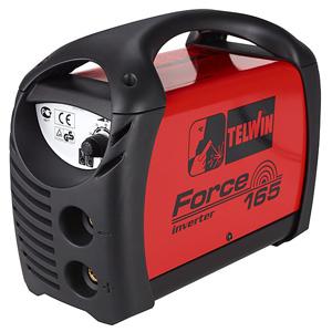 saldatrice inverter telwin force 165: corpo macchina senza accessori e kit