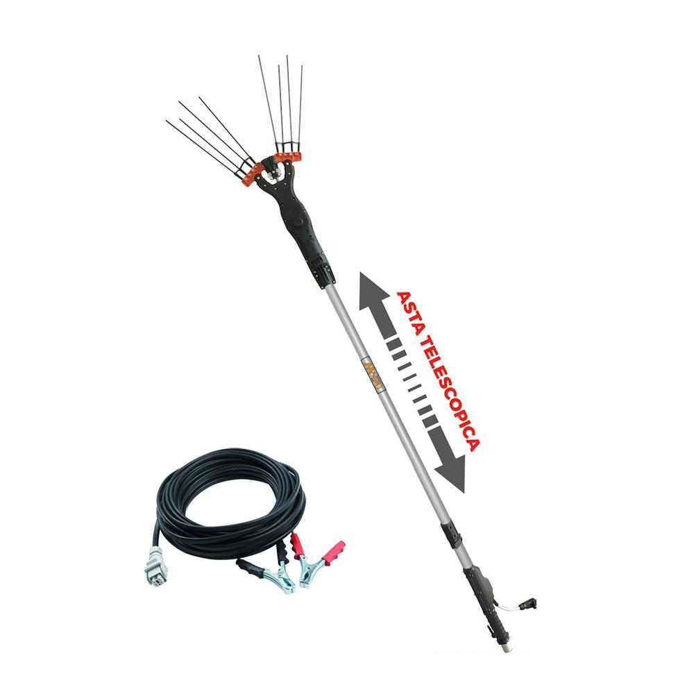 Vibrador de Aceitunas Eléctrico Telescópico Brumar Magiko 4x4 - Reacondicionado 1