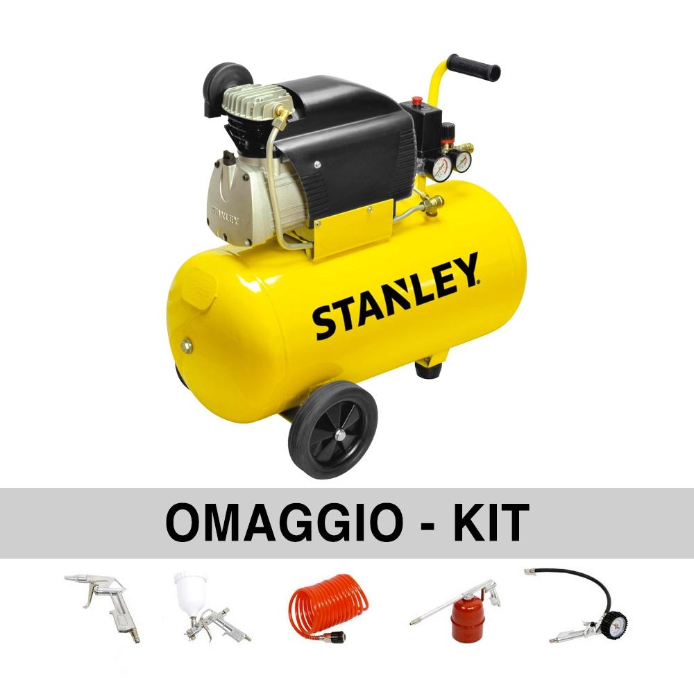 Compresor de aire 50 litros Stanley D 211/8/50