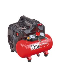 Compresor de aire silenciado 6 litros Fini Siltek S / 6 sin aceite
