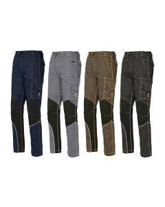 Pantalones de trabajo multibolsillo Issa Stretch Extreme