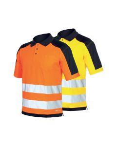 Polo de trabajo de alta visibilidad Industrial Starter HV Polo Shirt 08190