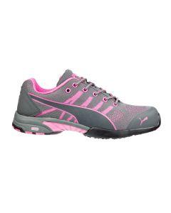 Zapatos de trabajo de mujer Puma Celerity Knit Pink Wns Low S1 HRO SRC