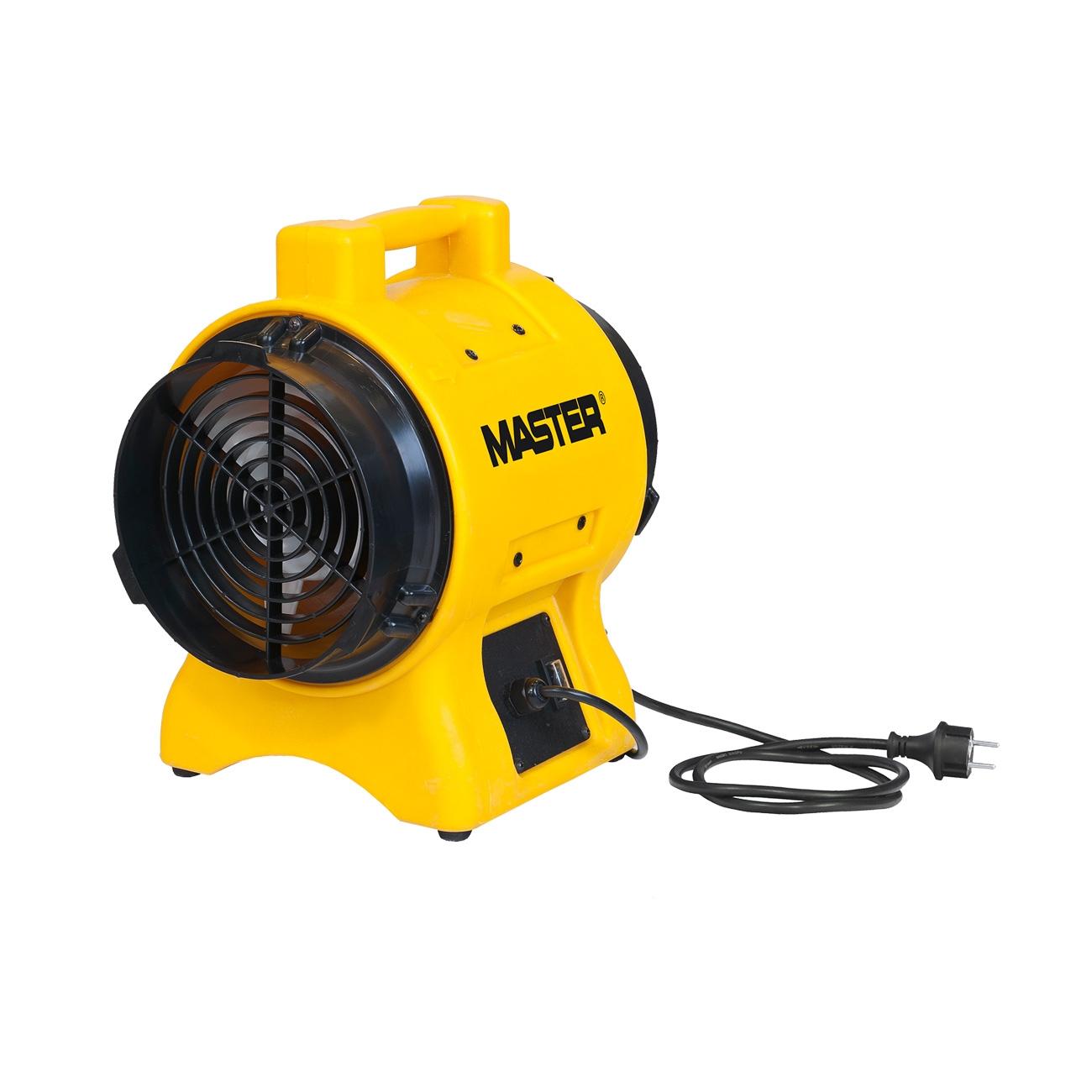 Extractor y circulador de aire Master BL 4800