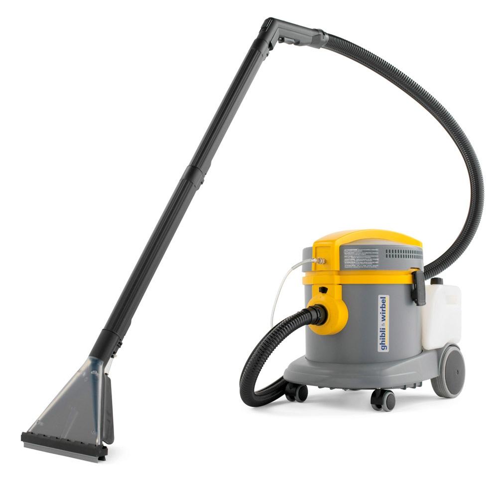 Limpiador de alfombras, aspirador / líquido Ghibli POWER EXTRA 7 P 1250 W