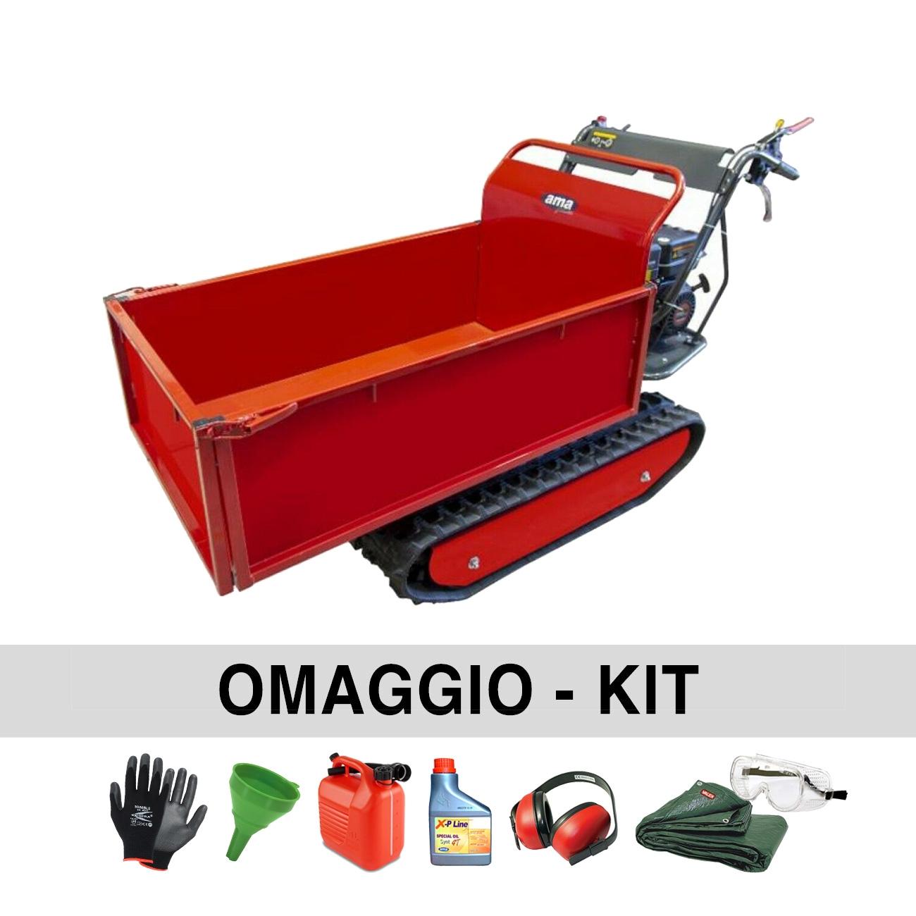 Carretilla con orugas con motor AMA TAG500N 500 kg