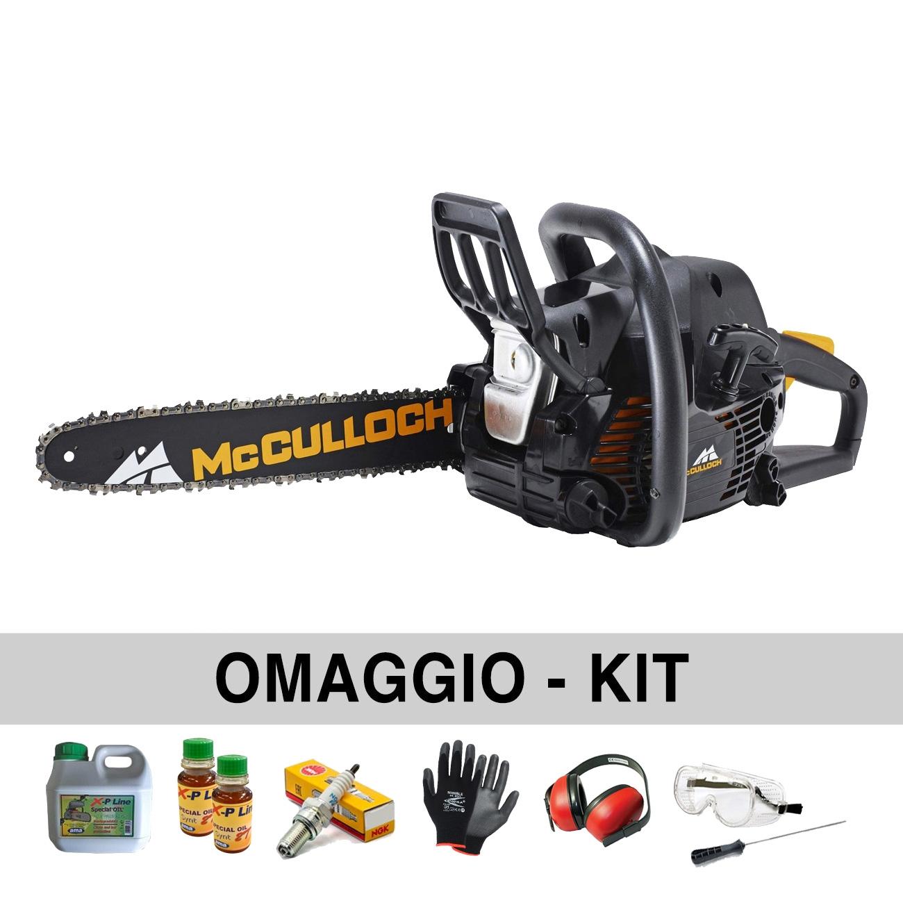 Motosierra de gasolina Mcculloch CS400-  40 cm