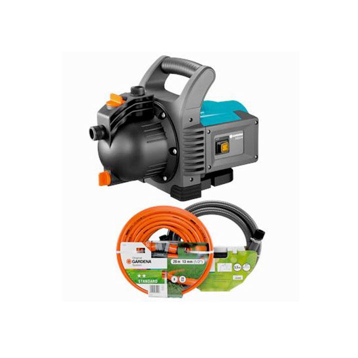 Bomba de agua limpia eléctrica Classic Gardena 3500/4 -