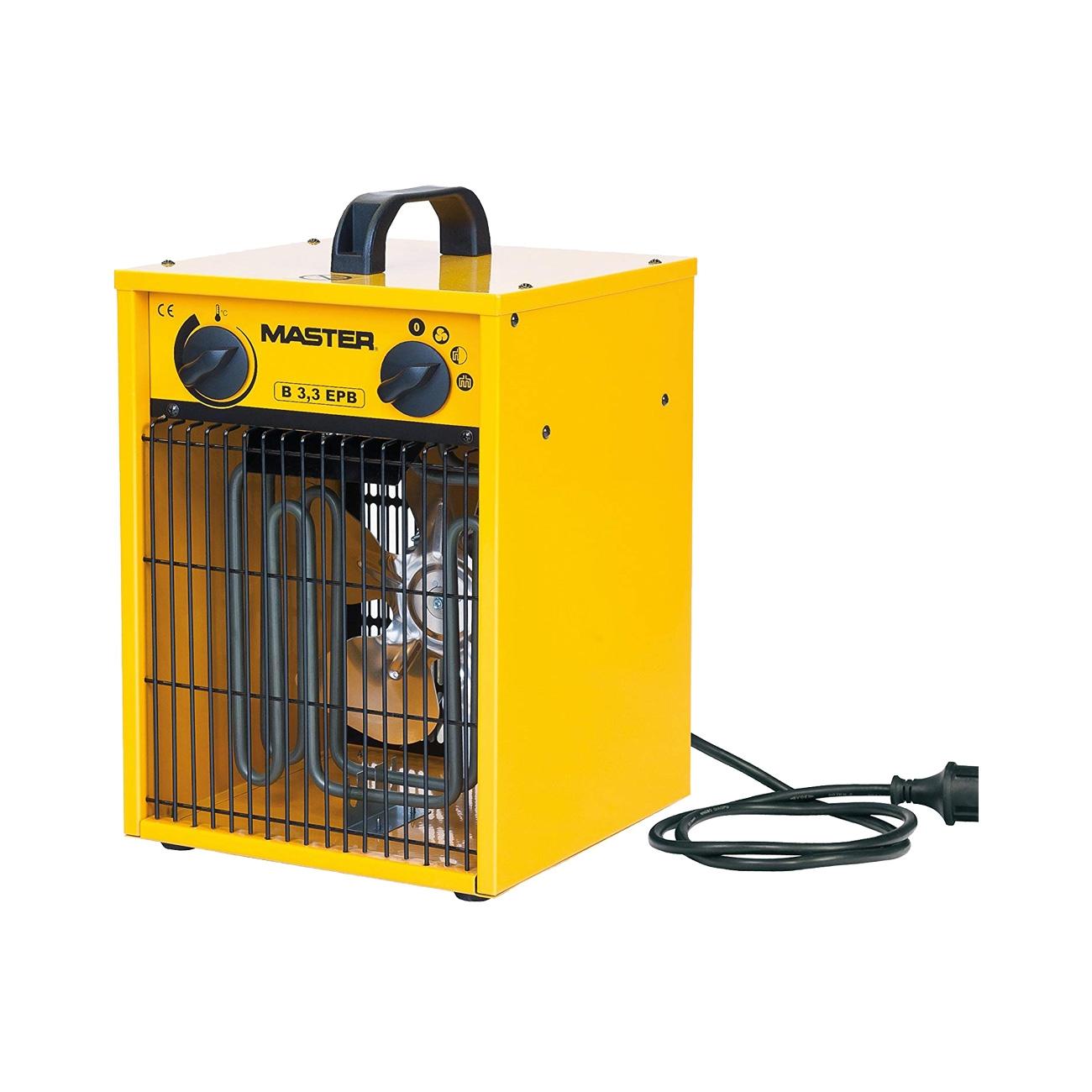 Calentador eléctrico Master B3.3 EPB con ventilador