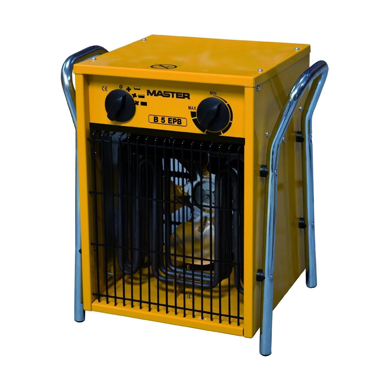 Generador de aire caliente con ventilador trifásico Master B5 EPB - Reacondicionado 1