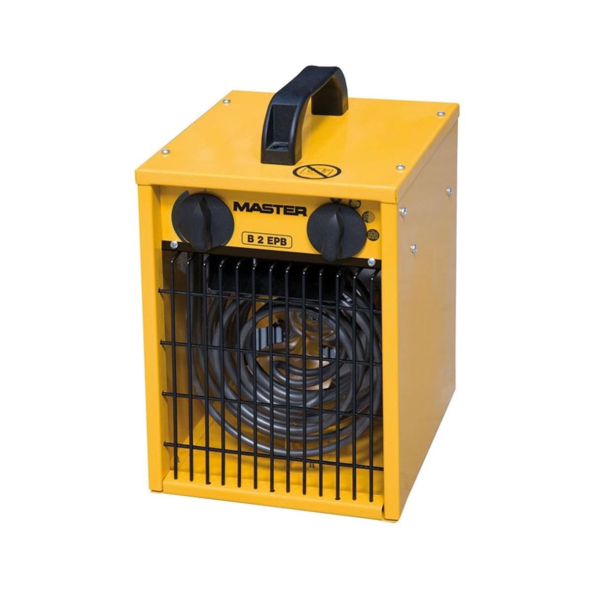 Calentador eléctrico Master B2 EPB con ventilador
