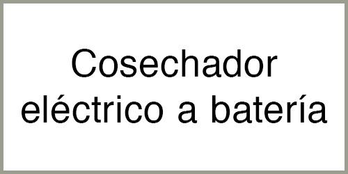 Cosechador eléctrico a batería