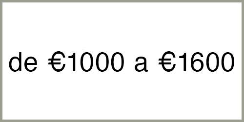 Estufas de pellets de € 1000 a € 1600